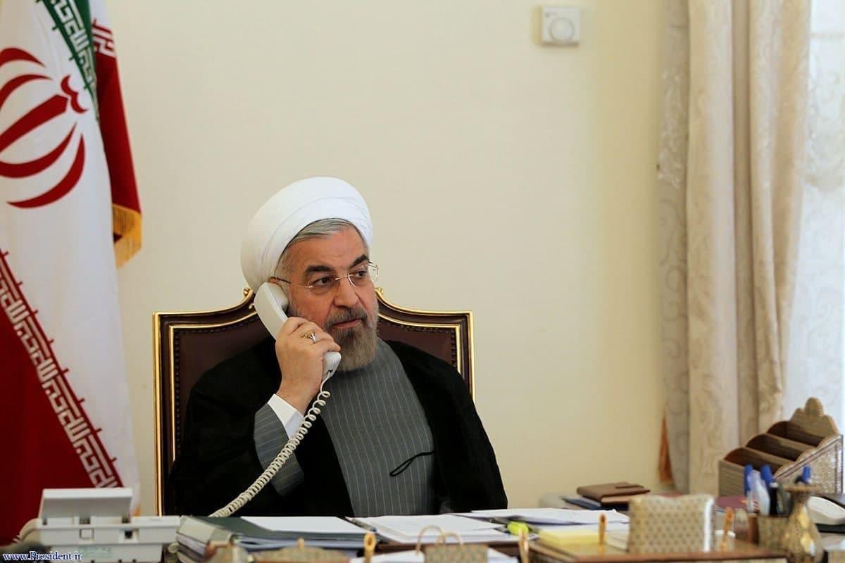 روحانی در تماس تلفنی با همتای افغانستانی: حمایت از روند صلح در افغانستان سیاست اصولی ایران است