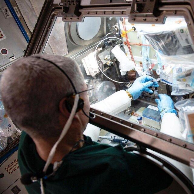مطالعه درباره واکسن در فضا