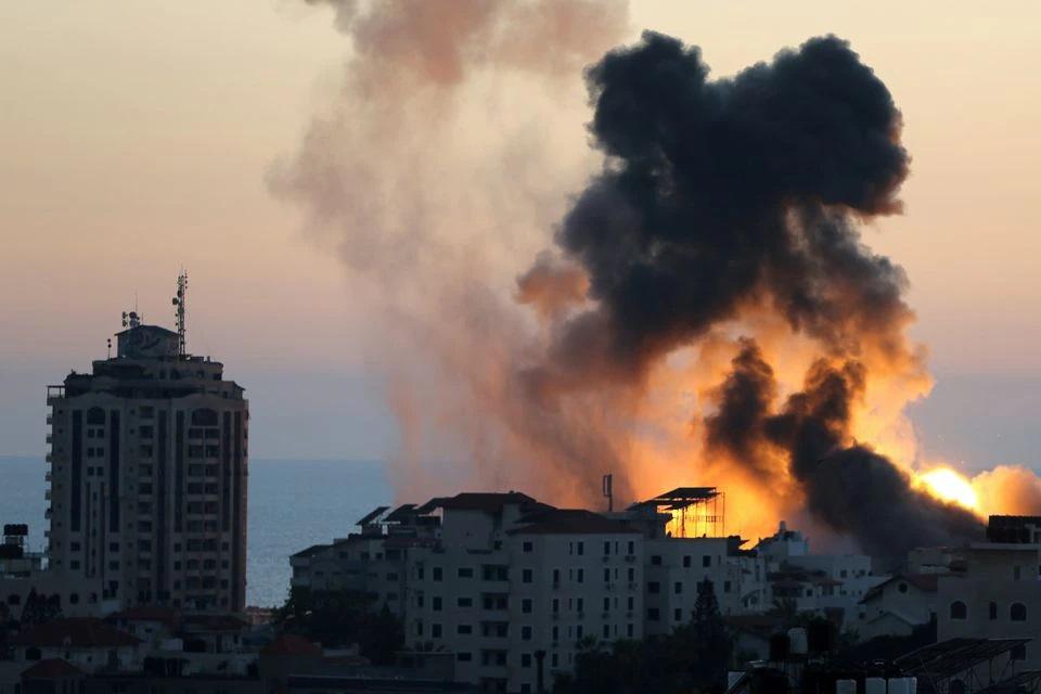 حملات هوایی اسرائیل به  غزه