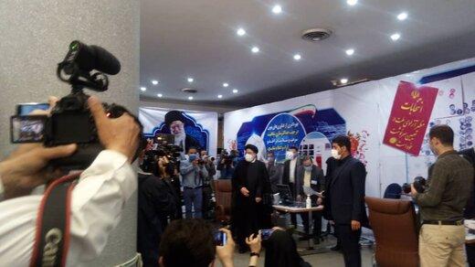 ابراهیم رئیسی در انتخابات ریاست جمهوری ثبت نام کرد