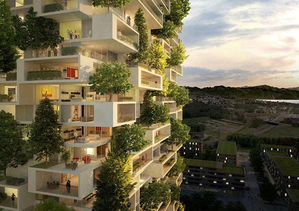 آپارتمان های تهران سبز میشوند