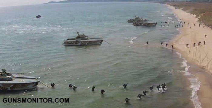 قایق تانک؛ محصول متفاوت ارتش اندونزی(+عکس)