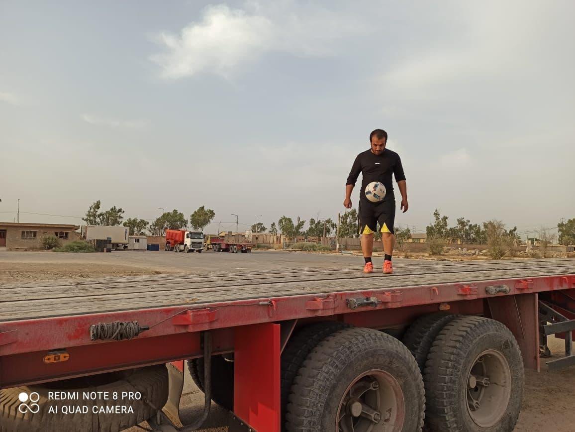 ورزشکار اهوازی به دنبال ثبت رکورد روپایی در گینس