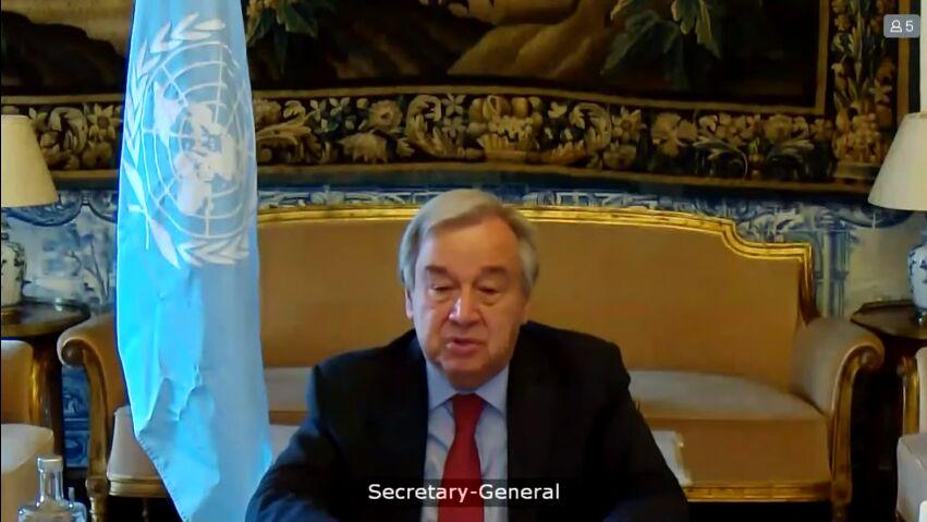دبیرکل سازمان ملل: جنگ فلسطین باید فوری متوقف شود