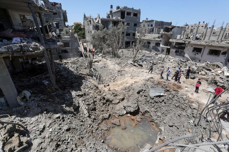 آثار جنگ در غزه