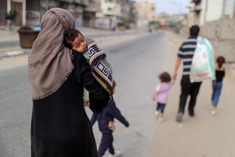 مردم جنگ زده غزه