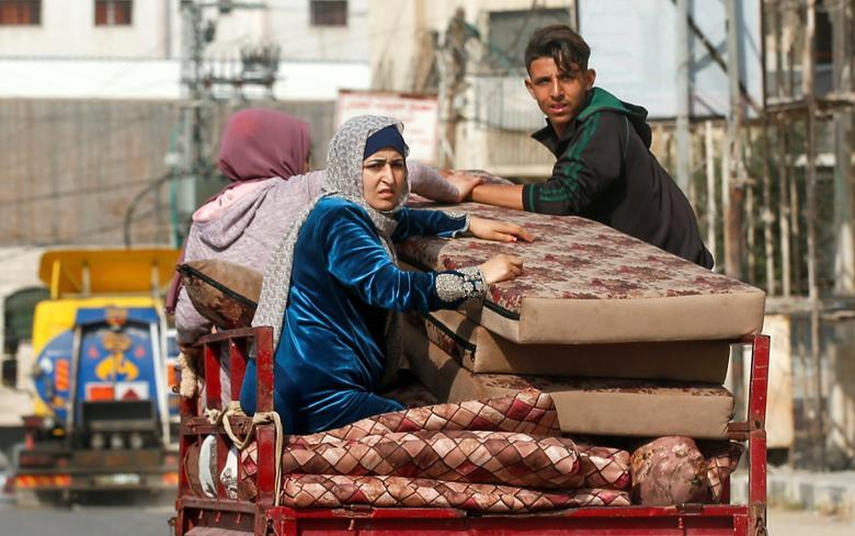 اورگان فلسطینی پس از بمباران اسرائیل