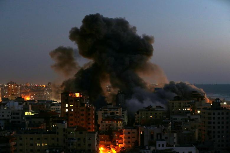 شهر بمباران شده غزه