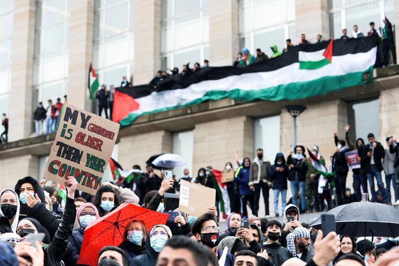 حمایت از فلسطین در بلژیک