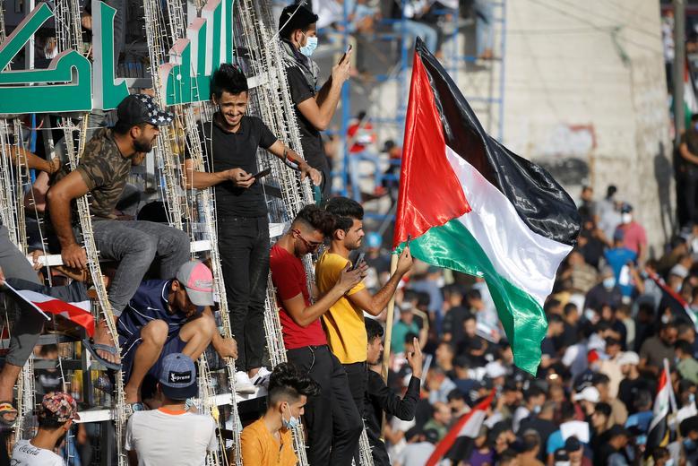 حمایت از فلسطین در بغداد