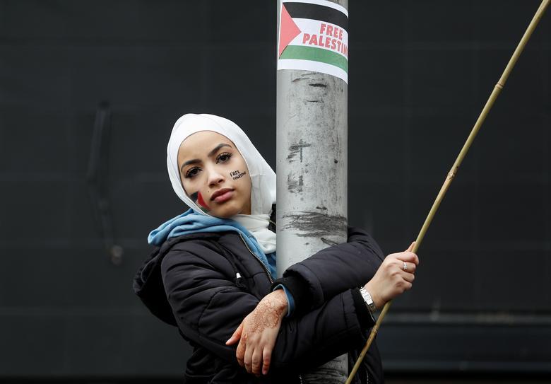 حامی فلسطین در برتانیا