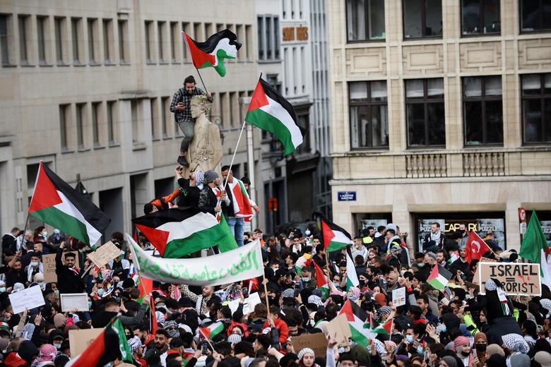 حامیان فلسطین در بلژیک