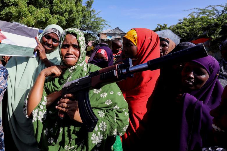 حامیان فلسطین در سومالی