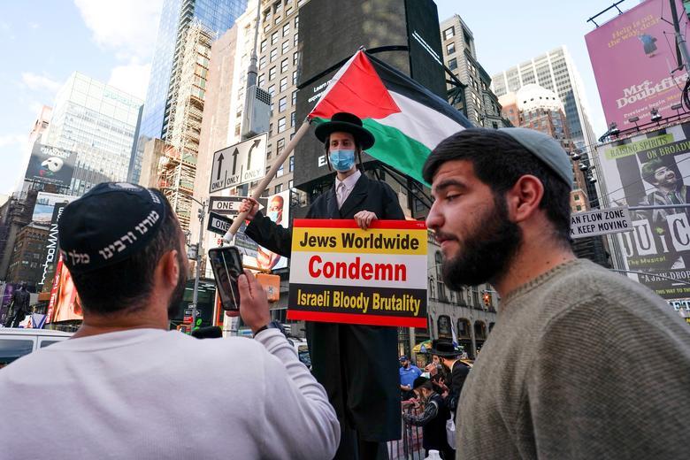 یهودی ارتدکس حامی فلسطین در نیویورک