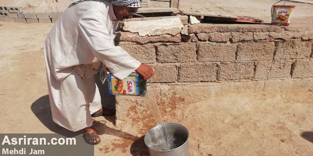 آبرسانی قطره چکانی در روستاهای غیزانیه خوزستان