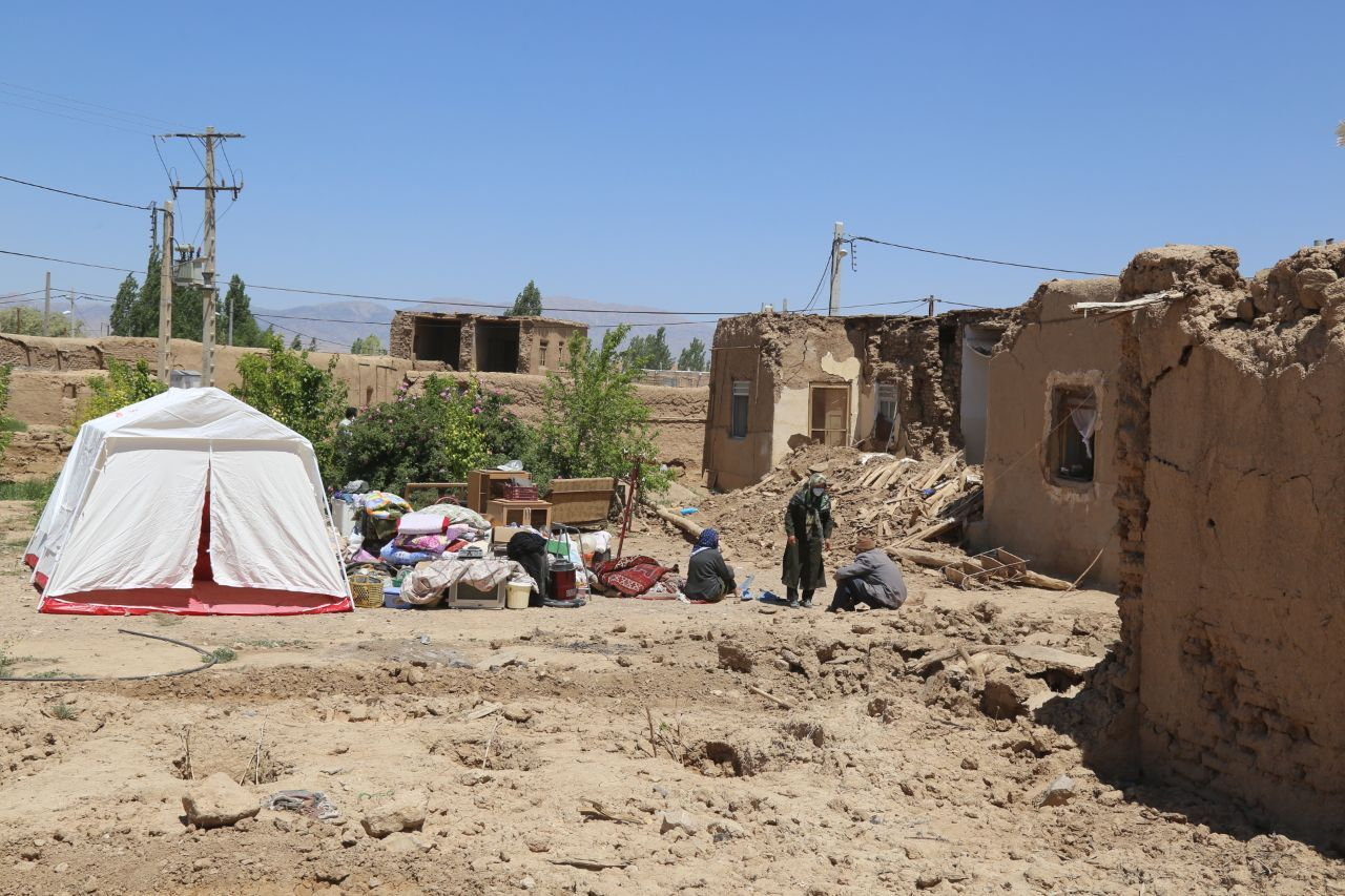 خسارت زلزله به 1000 واحد مسکونی در خراسان شمالی