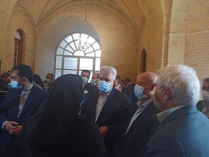 بازگشایی تاریخی ترین درِ کاخ گلستان