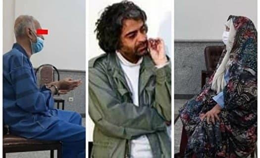 اعتراف پدر و مادر بابک خرمدین به قتل دختر و دامادشان