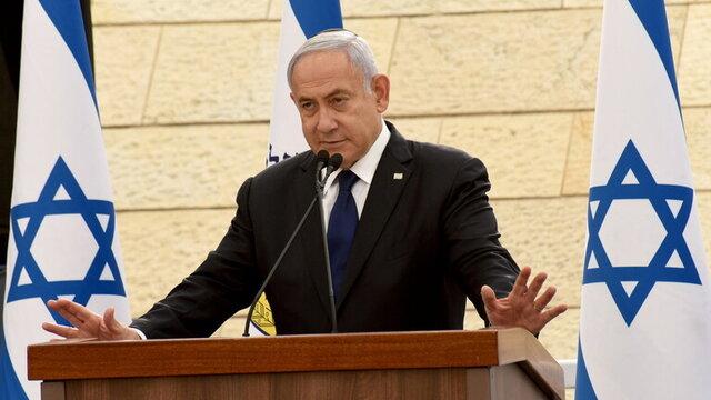 ادعای نتانیاهو: یک پهپاد از ایران را سرنگون کردیم