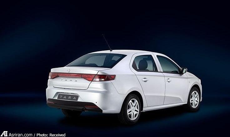 انتشار تصاویر جدید و رسمی خودرو تارا  از سوی ایران خودرو (+مشخصات فنی)