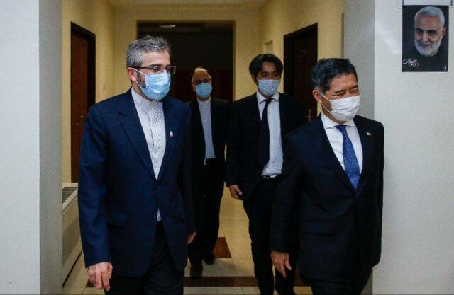 دیدار دبیر ستاد حقوق بشر ایران با سفیر ژاپن