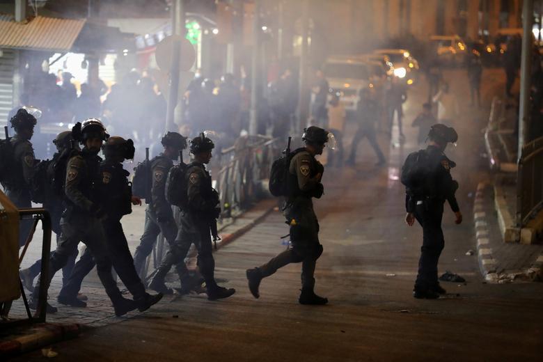 برخورد پلیس اسرائیل با معترضان