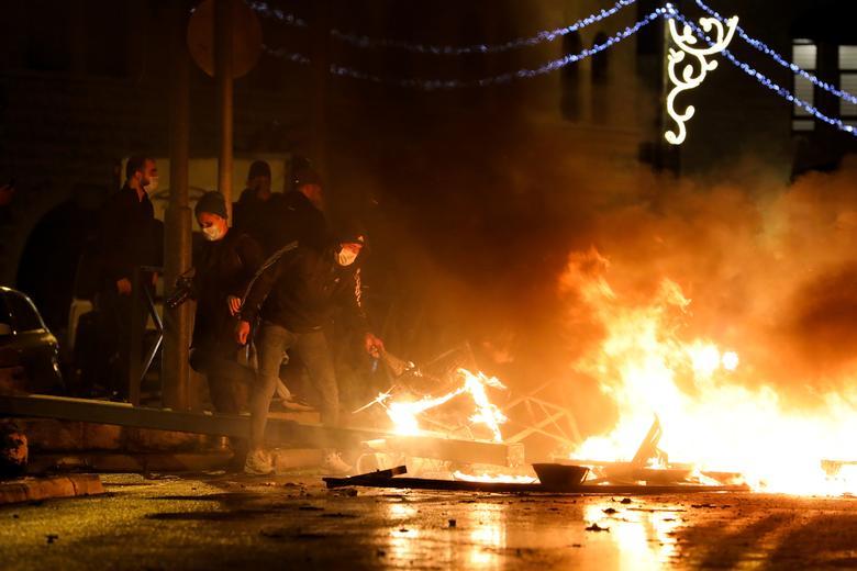 درگیری پلیس اسرائیل با فلسطینی ها