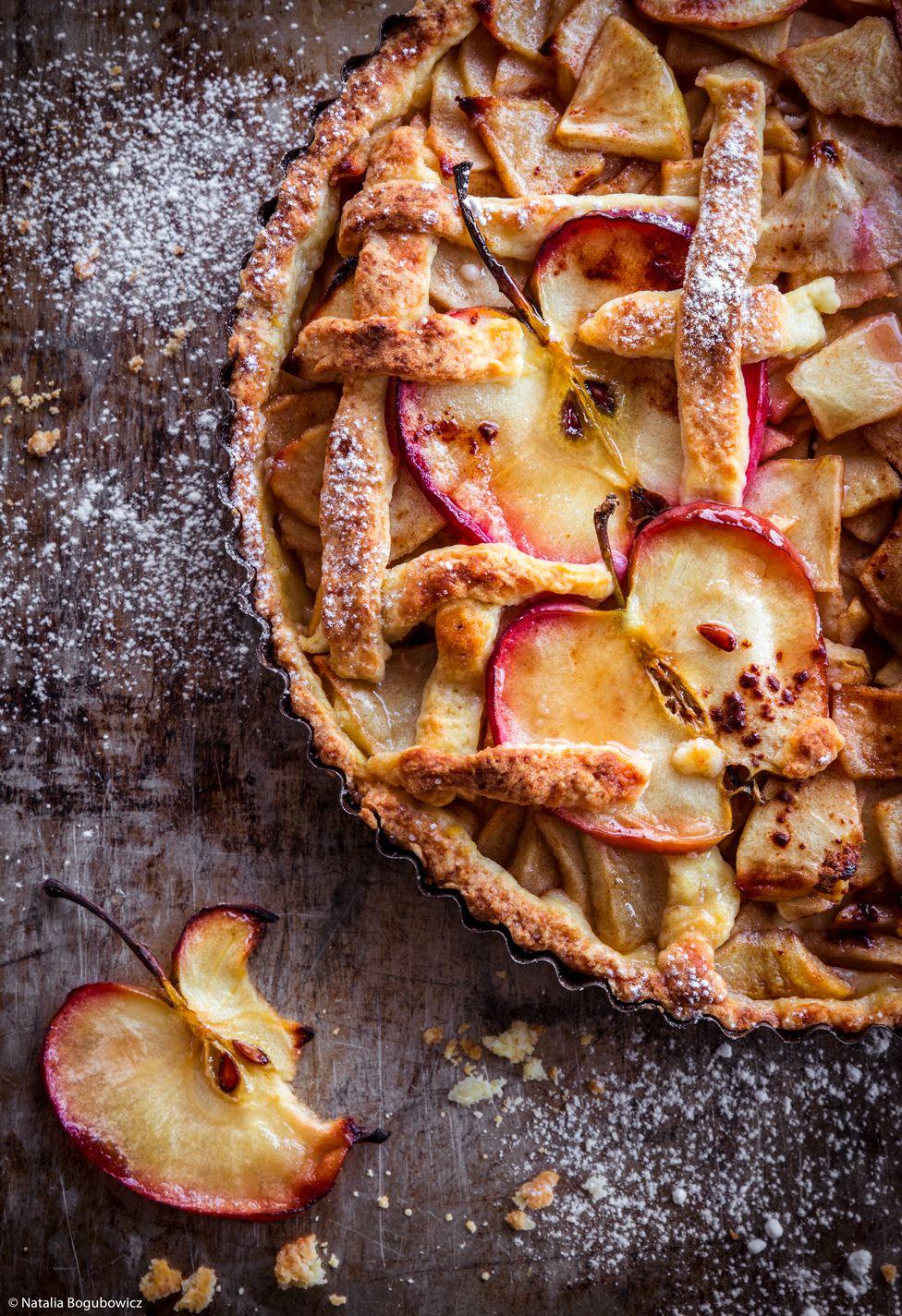 کیک سیب برنده  جایزه عکاسی  غذا