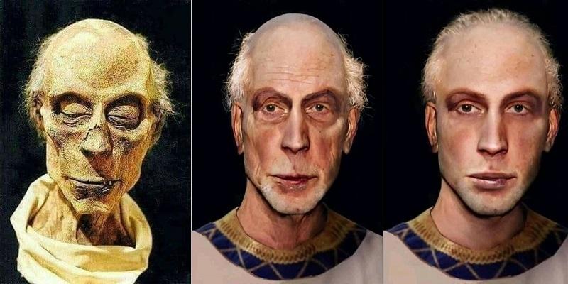 بازسازی رایانهای چهره رامسس دوم