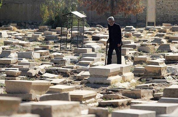 تغییر کاربری سومین قبرستان تاریخی جهان اسلام به پارک