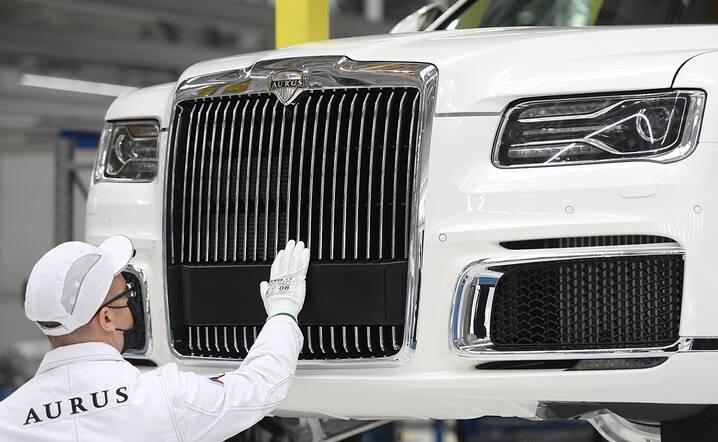 تولید خودرو لاکچری روسی آغاز شد (عکس)