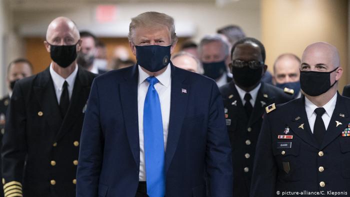 ترامپ و کرونایش کو؟