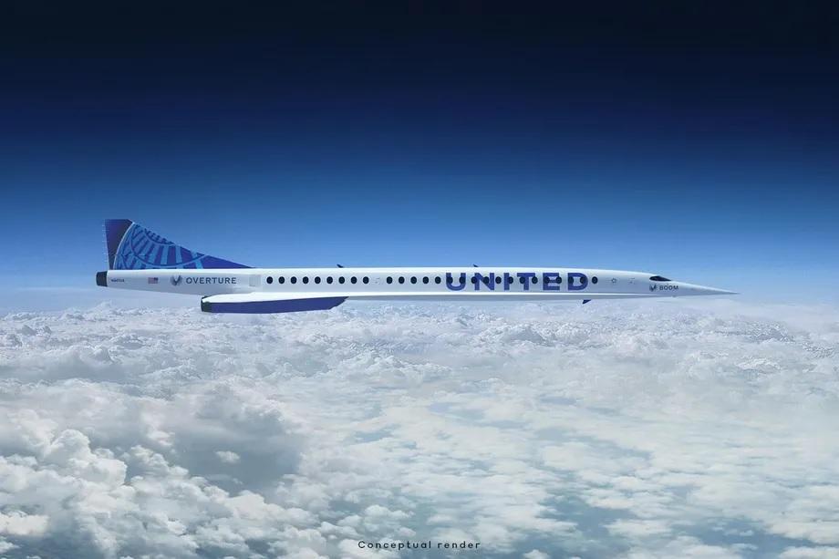 سفر هوایی فراصوت با یونایتد ایرلاینز زنده می شود/ از نیویورک تا لندن فقط 3.5 ساعت! (+فیلم و عکس)