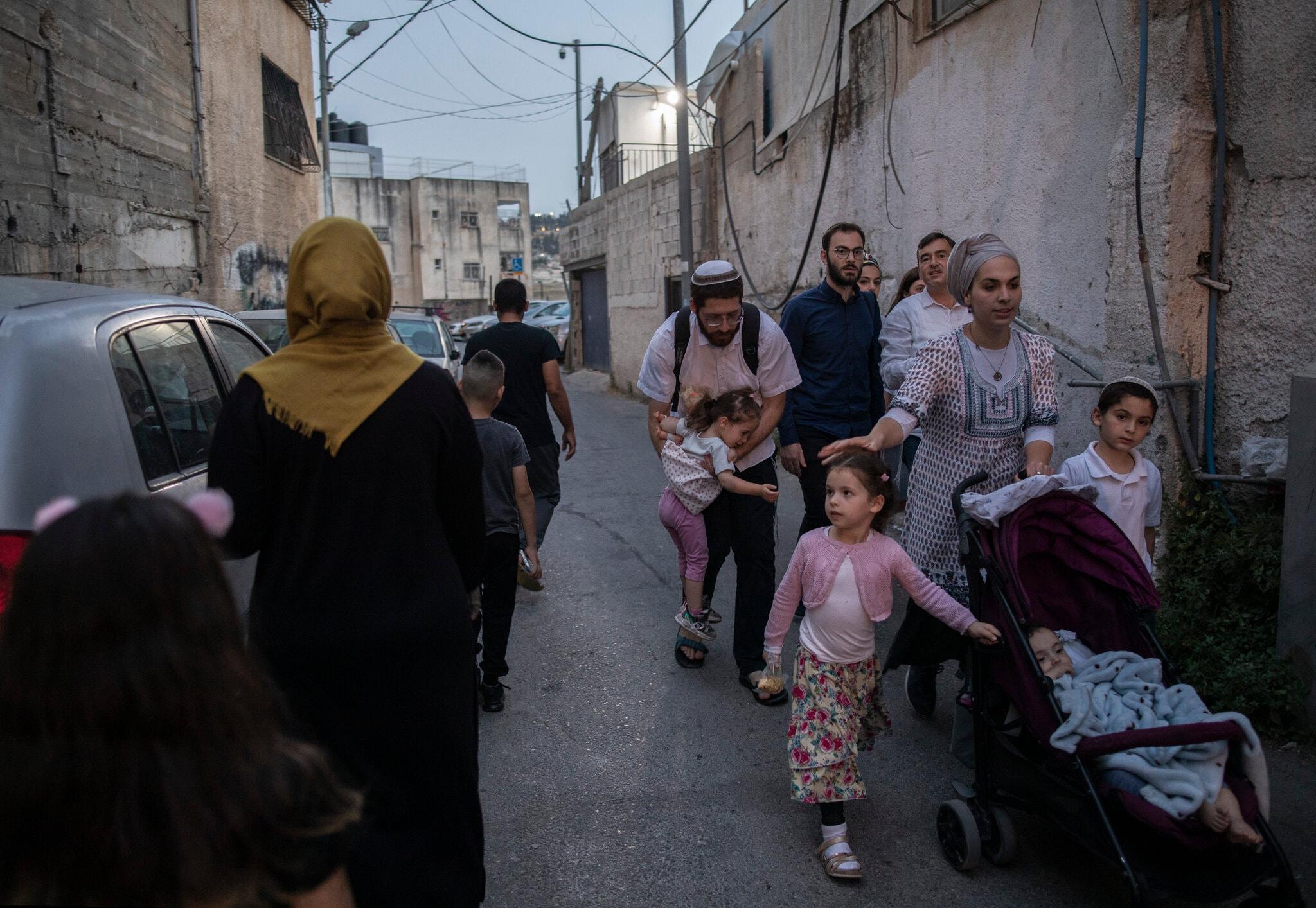 خانه ای دو تکه بین اسرائیلیان و فلسطینیان