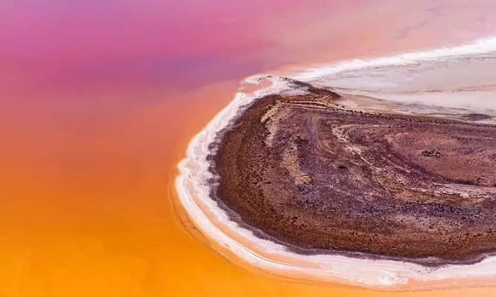 دریاچههای صورتی از جاذبههای منحصر به فرد استرالیا