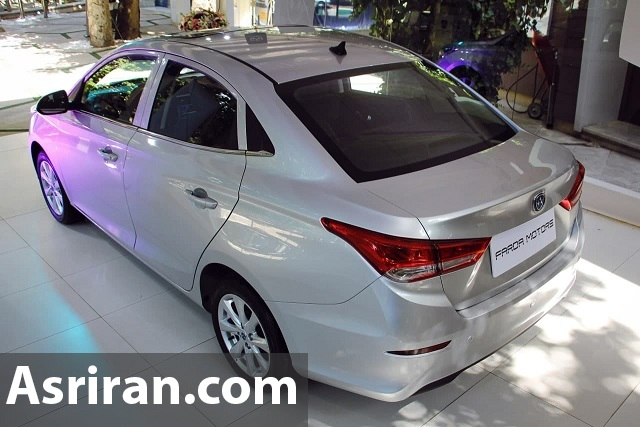 رونمایی رسمی از خودروی جدید بازار ایران /
