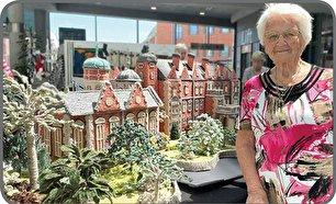 ماکتهای بافتنی مادربزرگ 92 ساله (+عکس)