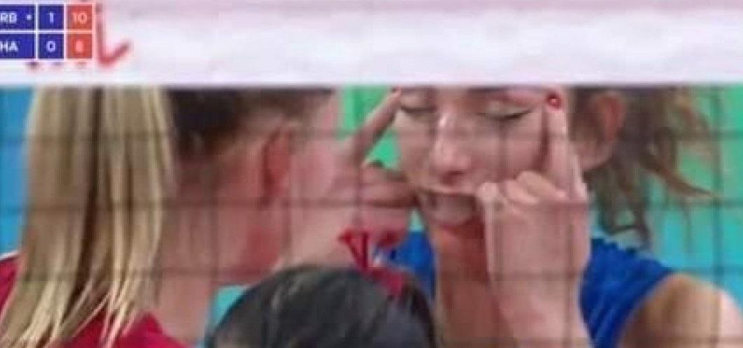 محومیت بازیکن زن تیم ملی والیبال صربستان