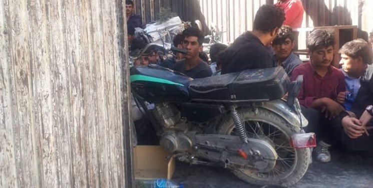 انهدام باند قاچاق انسان در اسلامشهر تهران