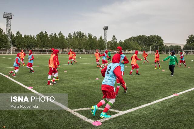دختران جوان فوتبال ایران