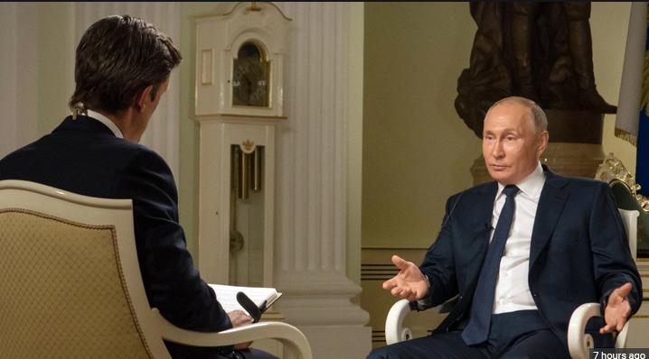 پوتین: خبر فروش ماهواره جاسوسی روسی به ایران مزخرف و دروغ است