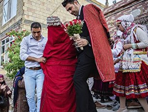 عروسی سنتی در کلات (عکس)