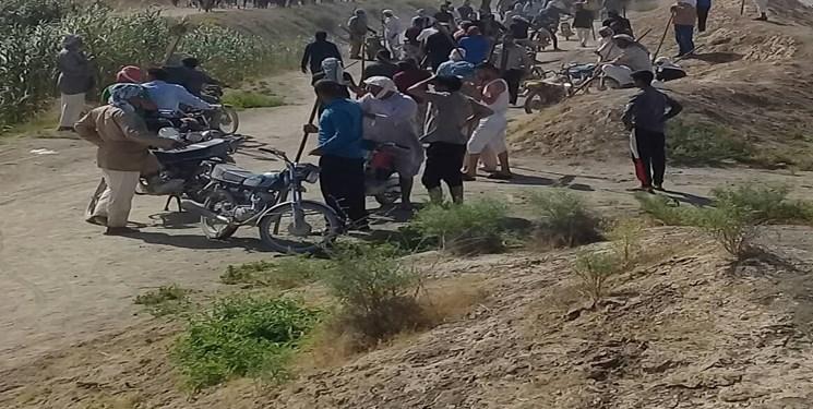 ماجرای اعتراض کشاورزان کرخه به قطعی آب