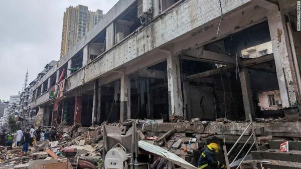 دستکم ۱۱ کشته در پی وقوع انفجار در چین