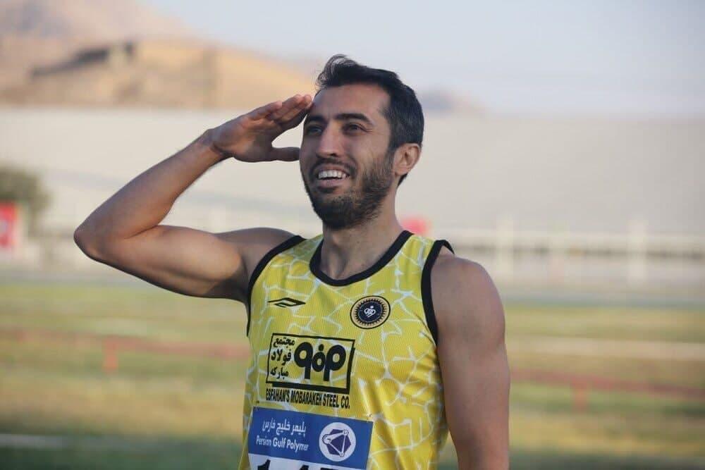 رکورد دو ۴۰۰ متر ایران شکست