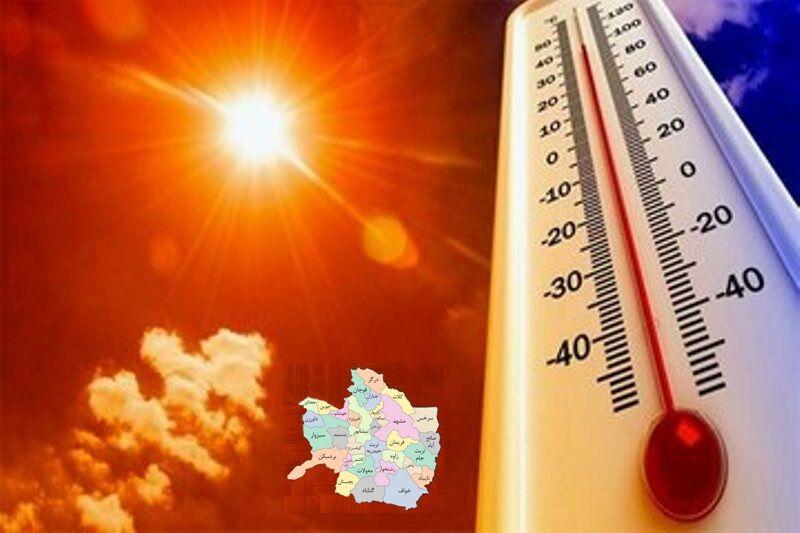 گرمای بی سابقه در مشهد