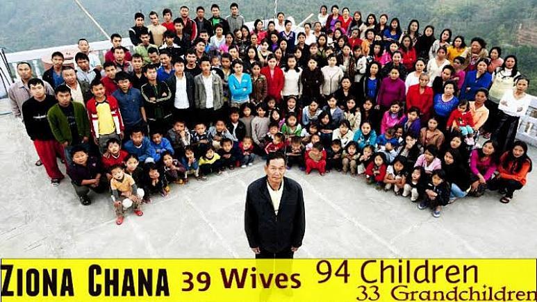 پدرِ بزرگترین خانواده جهان با ۳۸ زن و ۱۲۵ فرزند درگذشت