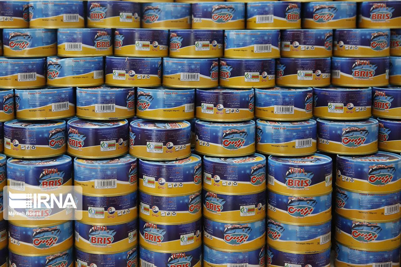 افزایش ۱۵ تا ۲۰ درصدی کنسرو ماهی از تیر ماه امسال