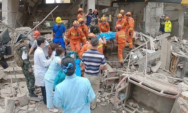 شماره کشته های انفجار گاز در چین به ۲۵ نفر رسید
