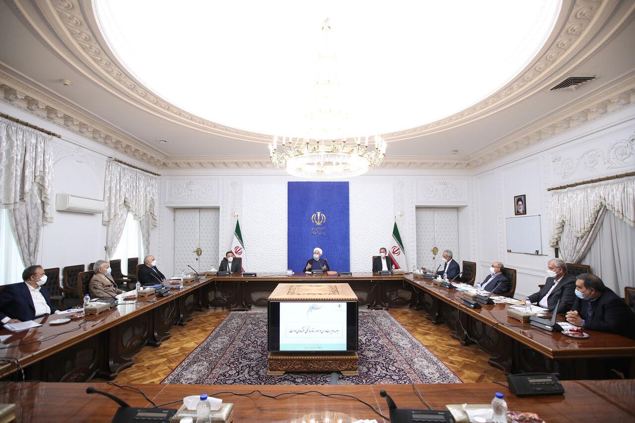 روحانی: سند جنایت جنگ اقتصادی و اعمال کنندگان تحریم باید منتشر شود